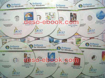 Contoh DVD Software