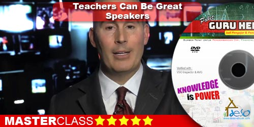 Teachers Can Be Great Speakers