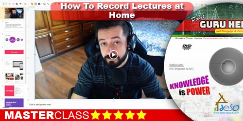 How To Record Lectures at Home