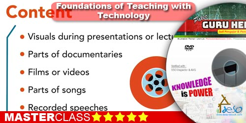 Foundations of Teaching with Technology