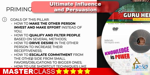Ultimate Influence and Persuasion