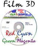 Film 3D Red-Cyan dan Green-Magenta