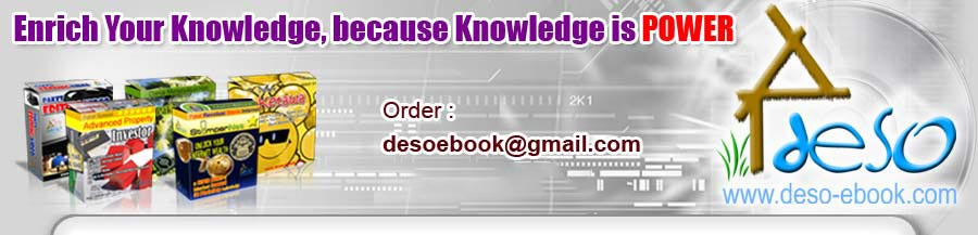 Paket DVD Belajar Blender | deso-ebook com