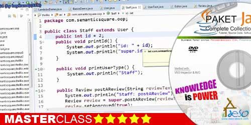 Jual Tutorial Video Java Terlengkap dan Termurah | deso-ebook.com